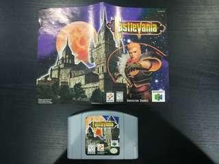 Nintendo 64 - Castlevania (NTSC US Region)