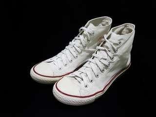 Sepatu Converse CT High Optical White size 43 Second