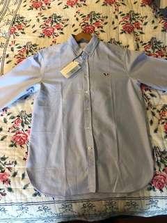 🚚 Maison Kitsune Paris shirts 襯衫 狐狸 40號