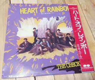 The Checkers Heart of Rainbow Blue Pacific 黑膠唱片 $120