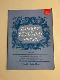 Baroque Keyboard Pieces Book IV