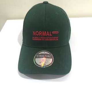 Shoopen Normal Green baseball / SnapBack / structured Cap - bought in Korea