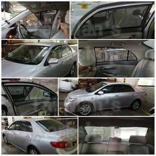 豐田 Corolla 全車磁石濾光窗網太陽擋