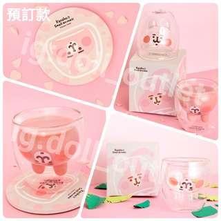 6月到貨 兔兔 P助 兔兔與P助 Kanahei's small animals Kanahei 台灣制杯 膠杯 有蓋膠杯 有蓋杯