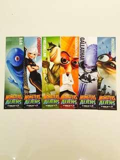 🚚 Monsters vs Aliens bookmarks 👽