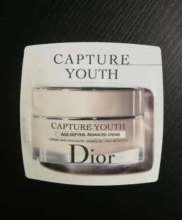 DIOR SAMPLE CAPTURE YOUTH AGE-DEFYING ADVANCED CREME 1ML