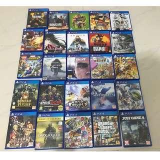 PS4 GAMES 25隻中文版