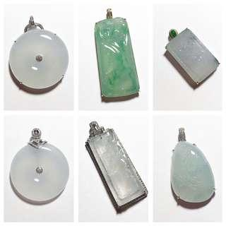 New arrivals! High end jadeite jade, our ready-to-wear collection!