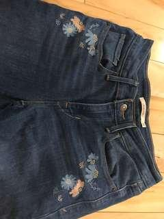 Levi's Mid Rise Skinny Jeans Size 26