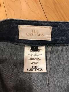 The Castings High Rise Denim Pencil Skirt Sz. 4