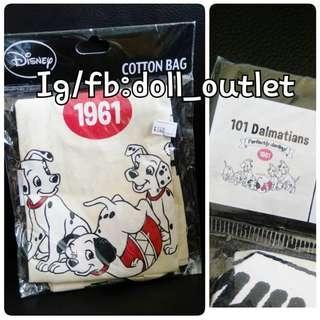101 Delmatians 101斑點狗 斑點狗 袋 環保袋 日本代購 絕版 老貨