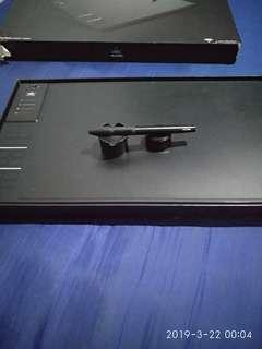 Huion wh1409 graphic tablet wireless