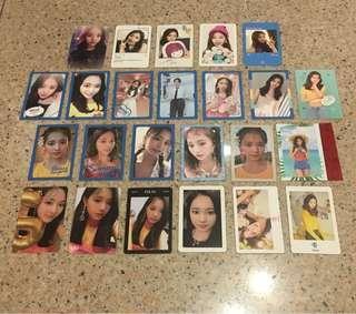 🚚 twice tzuyu photocards
