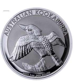 2011 Kookaburra Silver