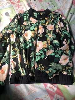♦️Repriced♦️ Floral Bomber Jacket