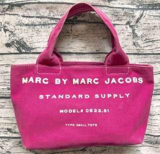 🚚 真品MARC BY MARC JACOBS帆布小手提包