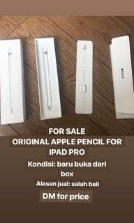 Stylus pen apple pencil 1st gen (JUAL RUGI)