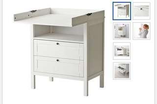 IKEA 尿布臺/尿布更換桌