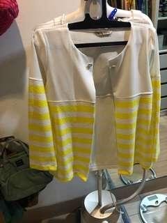 Yellow Stripe Outerwear