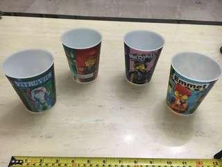 🚚 The LEGO Movie Cups by McDonalds