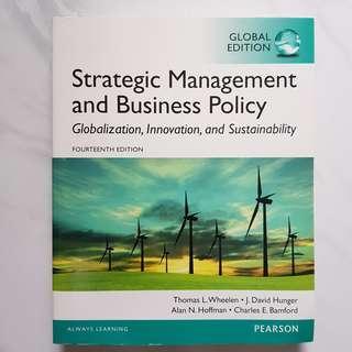 Strategic Management and Business Policies