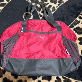 🚚 小資女孩👧Puma少女粉紅旅行袋/運動袋#半價良品市集