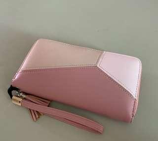 Pink Clutch Wallet