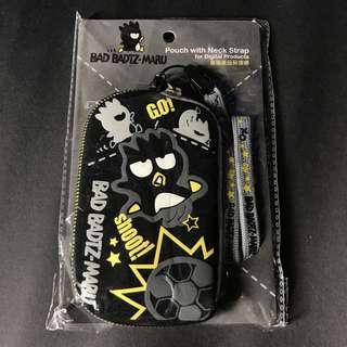 XO 酷企鵝數碼產品保護套(Sanrio Badtz Maru Pouch with Neck Strap for Digital Products)