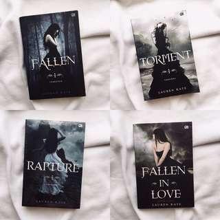 4 Series Fallen Novel by Lauren Kate