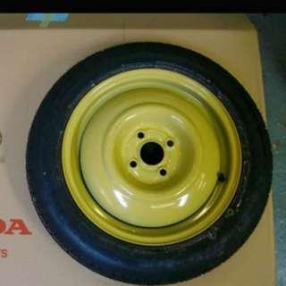 Looking for Jazz spare tyre