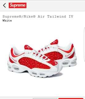 Supreme Nike air tailwind IV