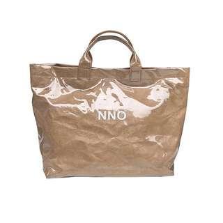 牛皮紙透明包包托特包 購物包