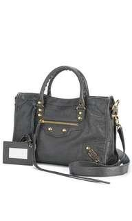 6836e376fa Balenciaga classic city (grey with gold hardware)