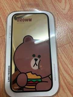 line friends iphoneX 手機殼(brown)
