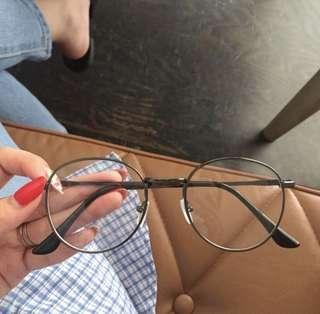質感圓框眼鏡