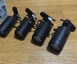 BNIB LED Track Light Holder (Black)