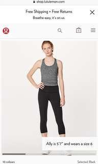 LULU LEMON | leggings | size 4
