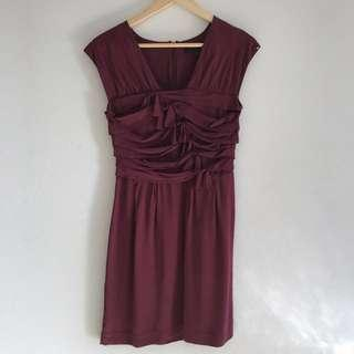 Country Road 100% Silk Dress S4
