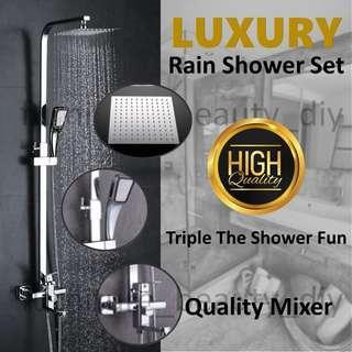 Wholesale High Quality Luxury Rain Shower Set Wholesale Price $139 Retail $200++ (Add Bidet Spray @ $10)