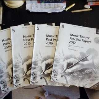 Abrsm music theory exam paper grade 1 to grade 5