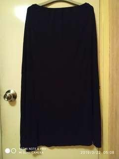 knit  silk  skirt