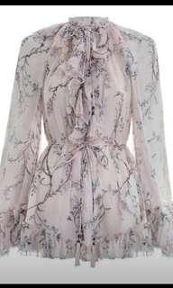 Zimmermann Paradiso Playsuit Size 0