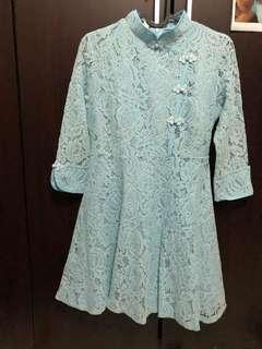 Cheongsam mini dress