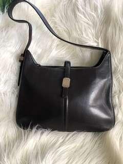 Courreges Paris Leather Shoulder Bag