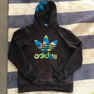Adidas hoodie size large