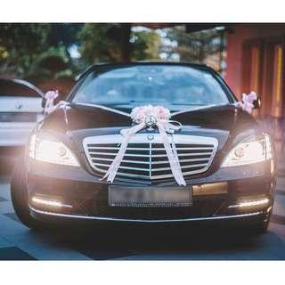 Ready Stock Wedding Car Decoration