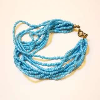 PRE💙D Powder Blue Seed Bead Bracelet