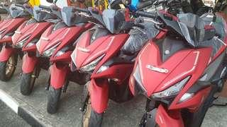 YAMAHA AEROX 155, RED ONLY, RANDOM VEHICLE NUMBER, IMMEDIATE COLLECTION!!!!