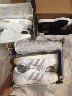 🚚 QYORP adidas & converse shoes, under armour bag, lovisa cuff: MOVING OUT SALE