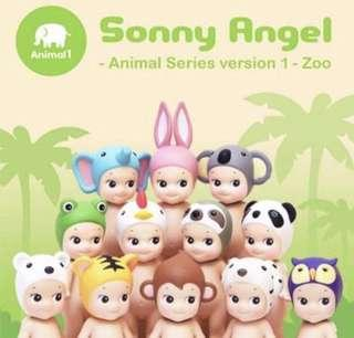 Sonny Angel 新動物系列1